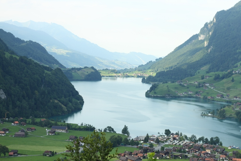 Lungern Lake Switzerland