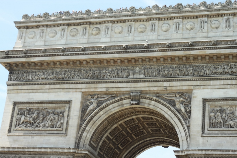 free tourist attractions eu passport arc de triomphe