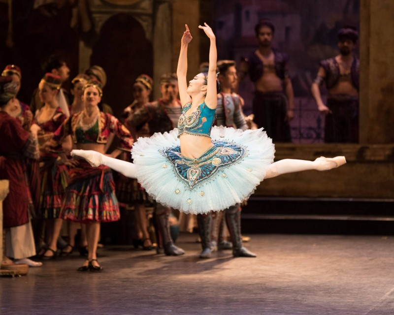 Shiori Kase as Medora in English National Ballet's Le Corsaire Photo (C) Photography by ASH