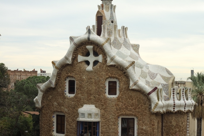park guell houses