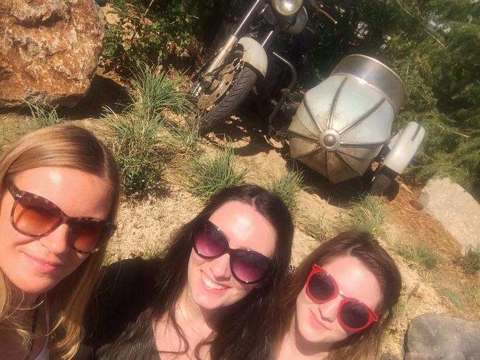 girls hagrid motorbike