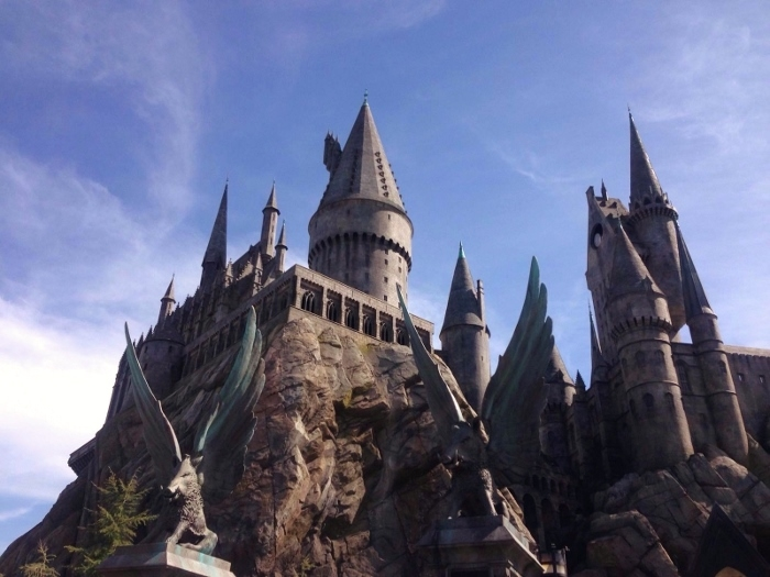 hogwarts hollywood universal studios