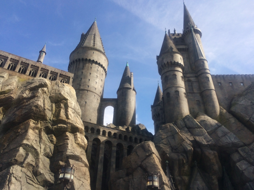 hogwarts universal studios hollywood
