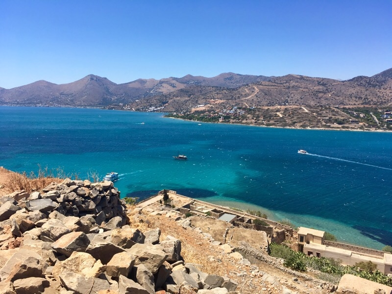 spinalonga view mainland