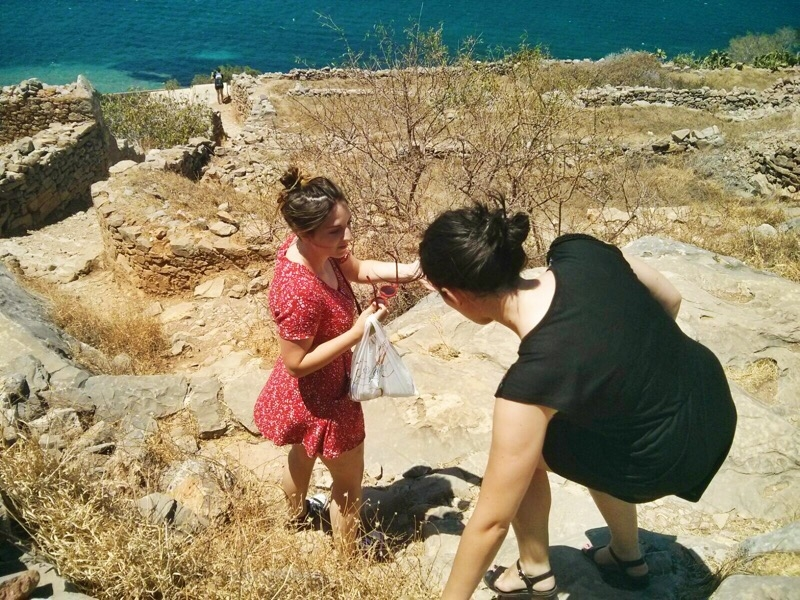 spinalonga climb