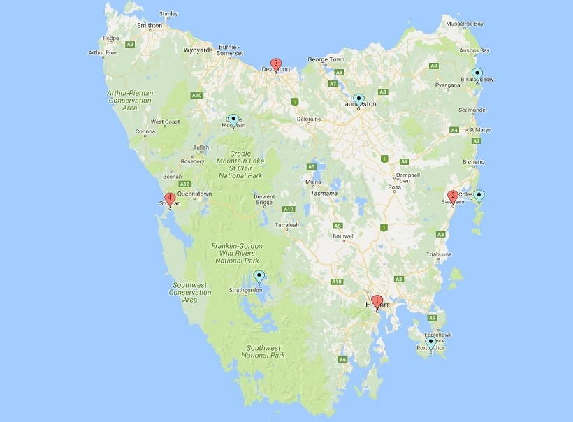 10 day Tasmanian Road Trip
