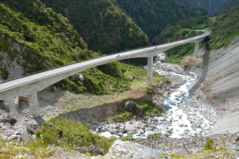 Arthurs Pass Otira Viaduct
