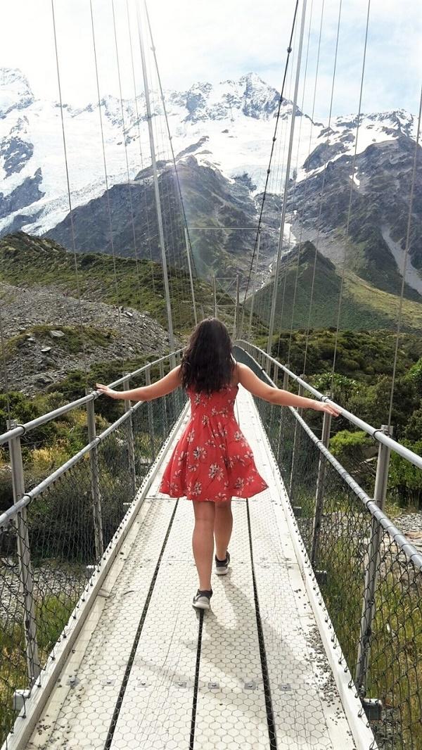 Mount Cook suspension bridge