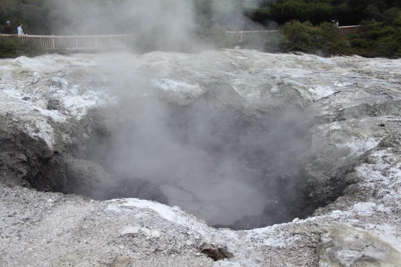 Rotorua thermal park
