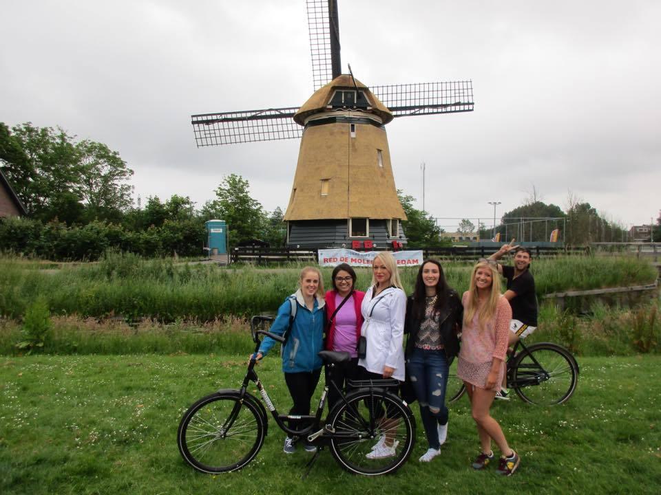 Edam windmill bikes