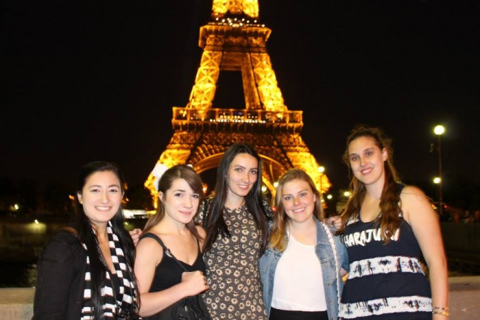 Paris contiki girls 2015