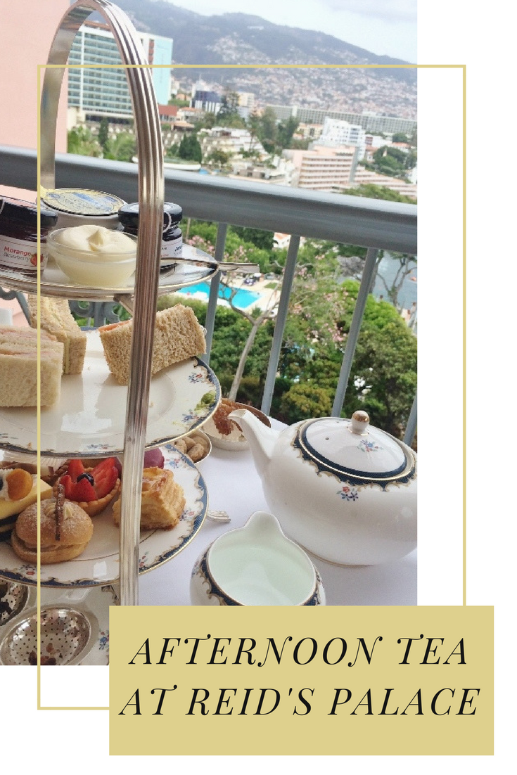 Afternoon Tea at Reid's Palace, Funchal | Wander with Laura