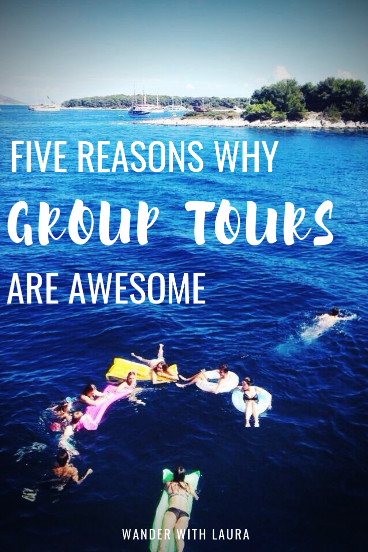 Five reasons why you should try a group tour