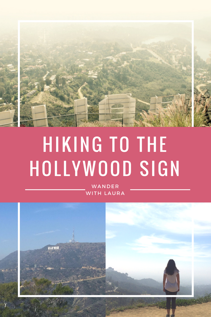 Hiking to the Hollywood Signl | Wander with Laura