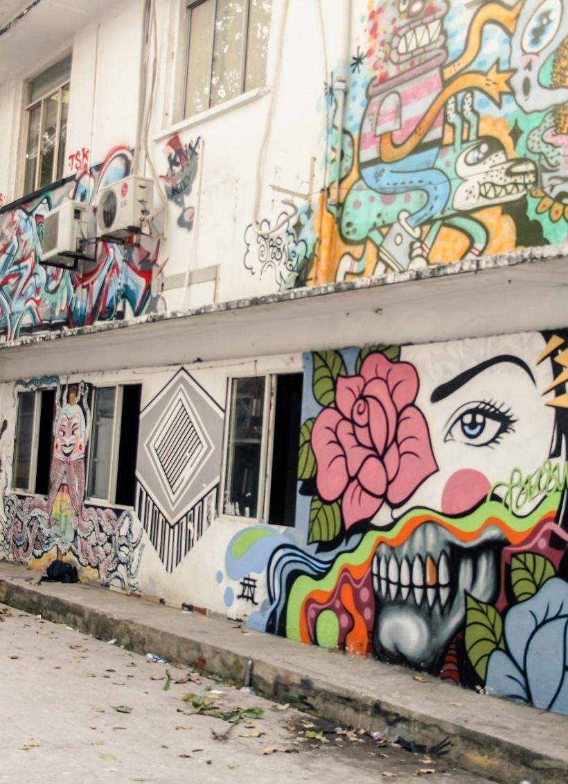 3A Station Vietnam street art