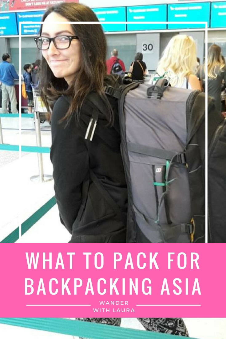 What to pack for backpacking South East Asia   Wander with Laura