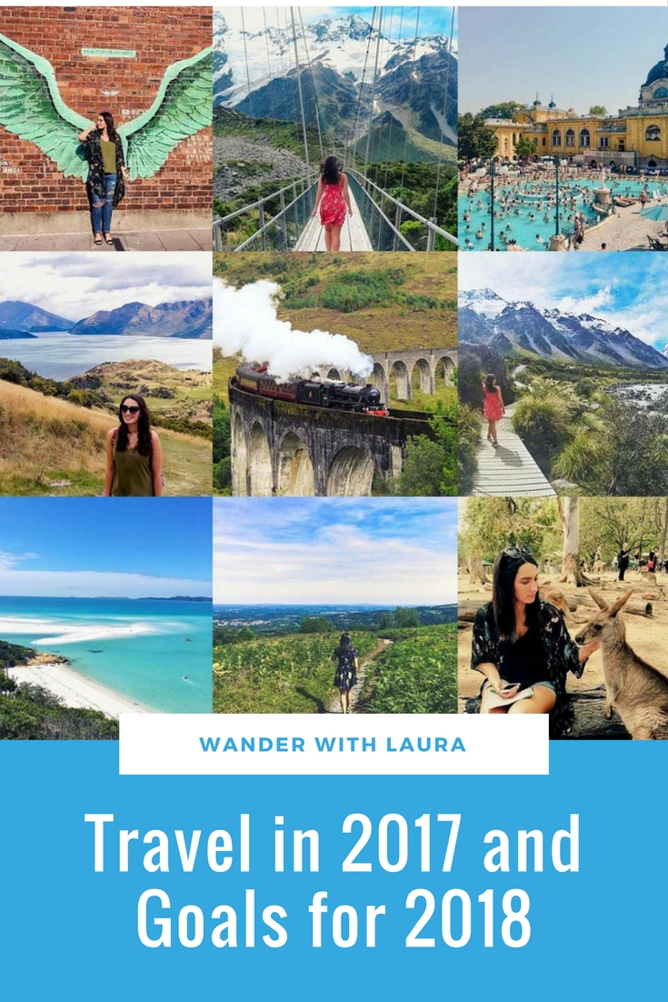 Travel in 2017 and Goals for 2018 | Travel and Lifestyle | Wander with Laura