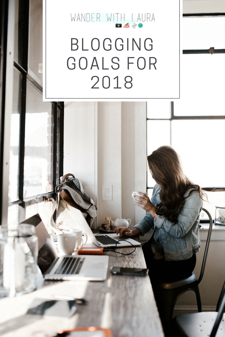 Pin: Blogging Goals for 2018