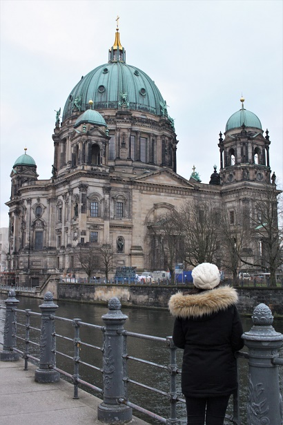 Berliner Dom Wander with Laura