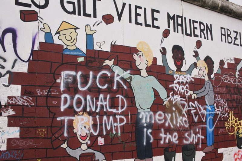 East Side Gallery wall