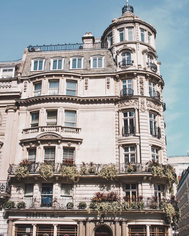 Pretty building in London