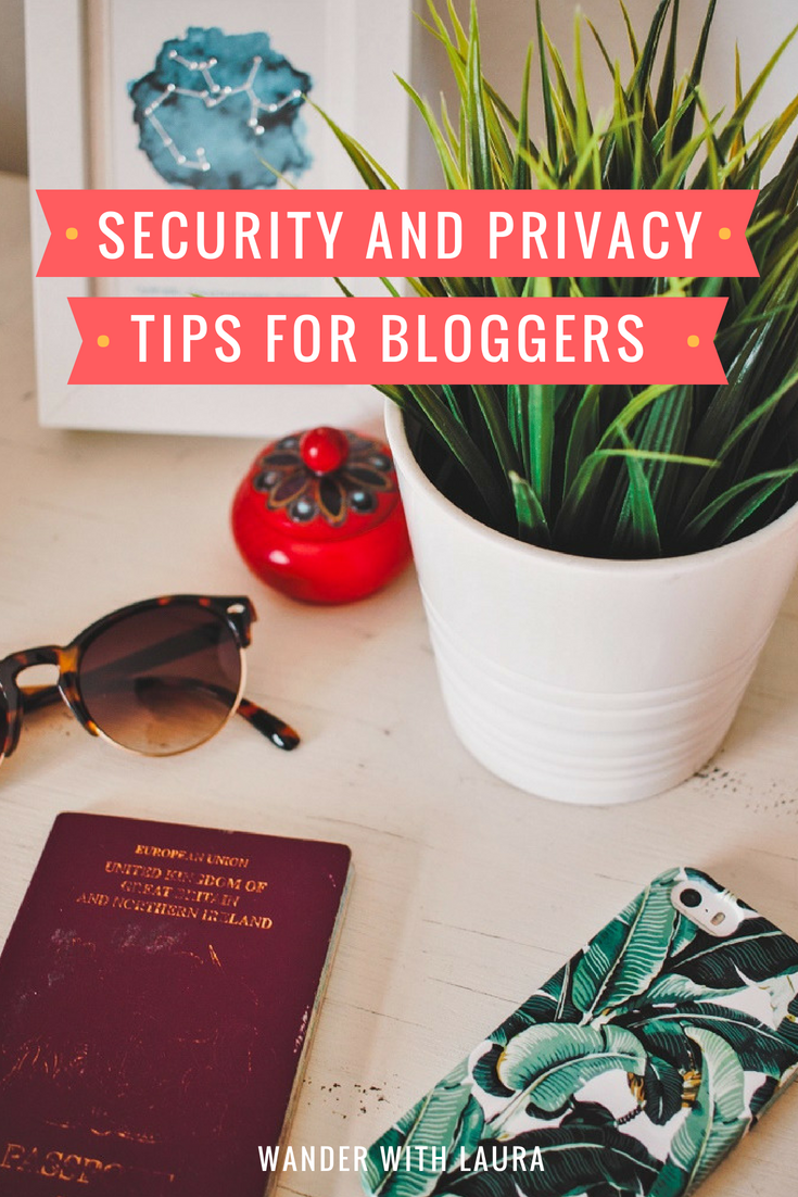 Blog Security and Privacy