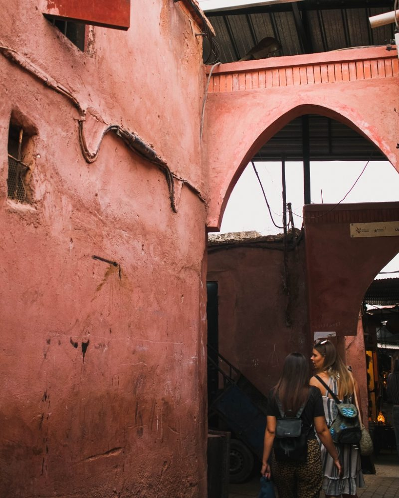 Marrakech streets and souks
