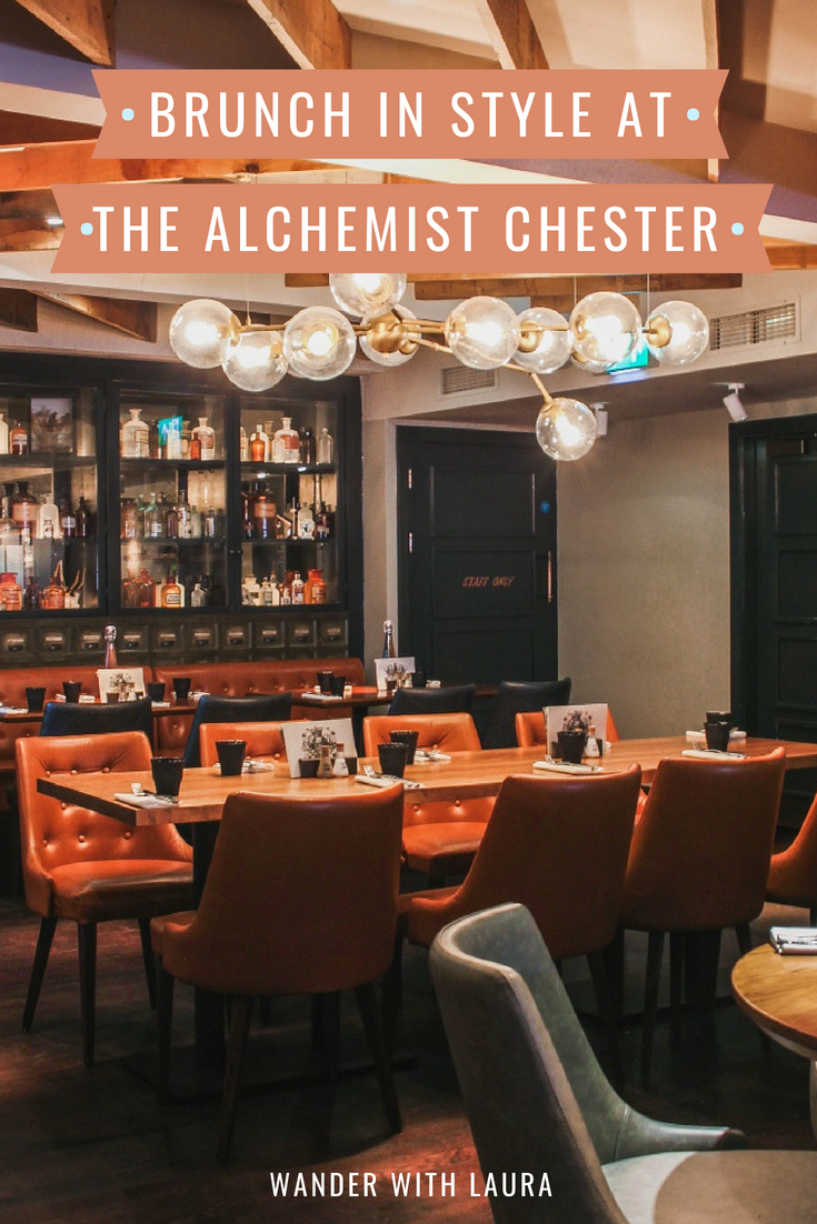 Brunch at The Alchemist Chester | Wander with Laura