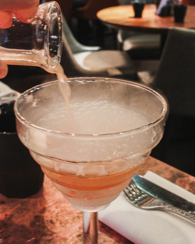 Bubblebath foaming cocktail