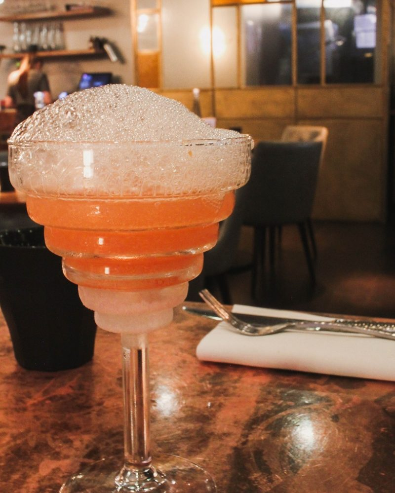 The Alchemist Bubblebath cocktail