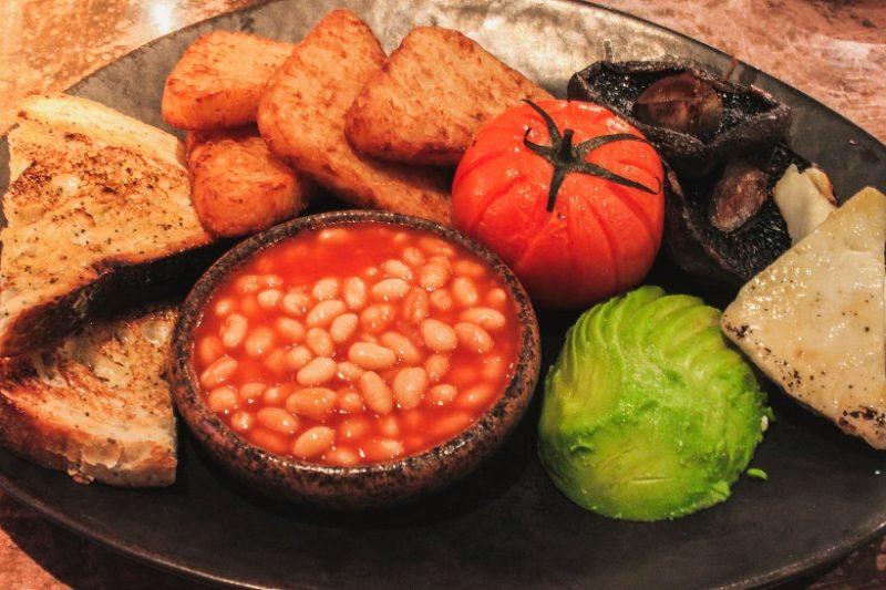 Vegetarian breakfast The AlchemistVegetarian breakfast The Alchemist