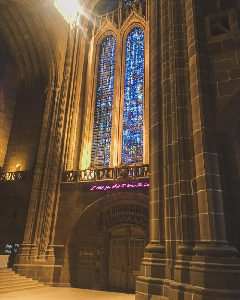 Inside Liverpool Cathedral