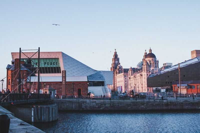 Liverpool pier