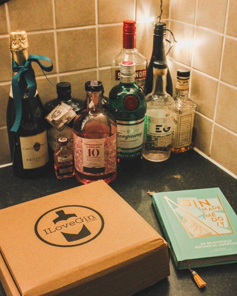 I love gin box