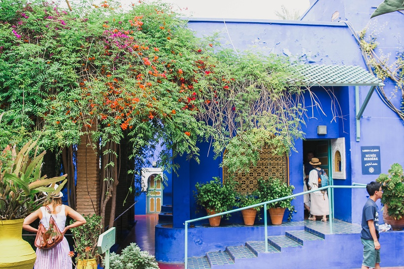 Sustainable travel blogger visits Marrakech