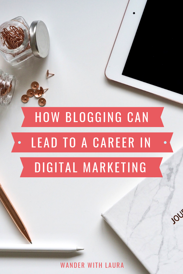 How blogging can lead to a career in marketing