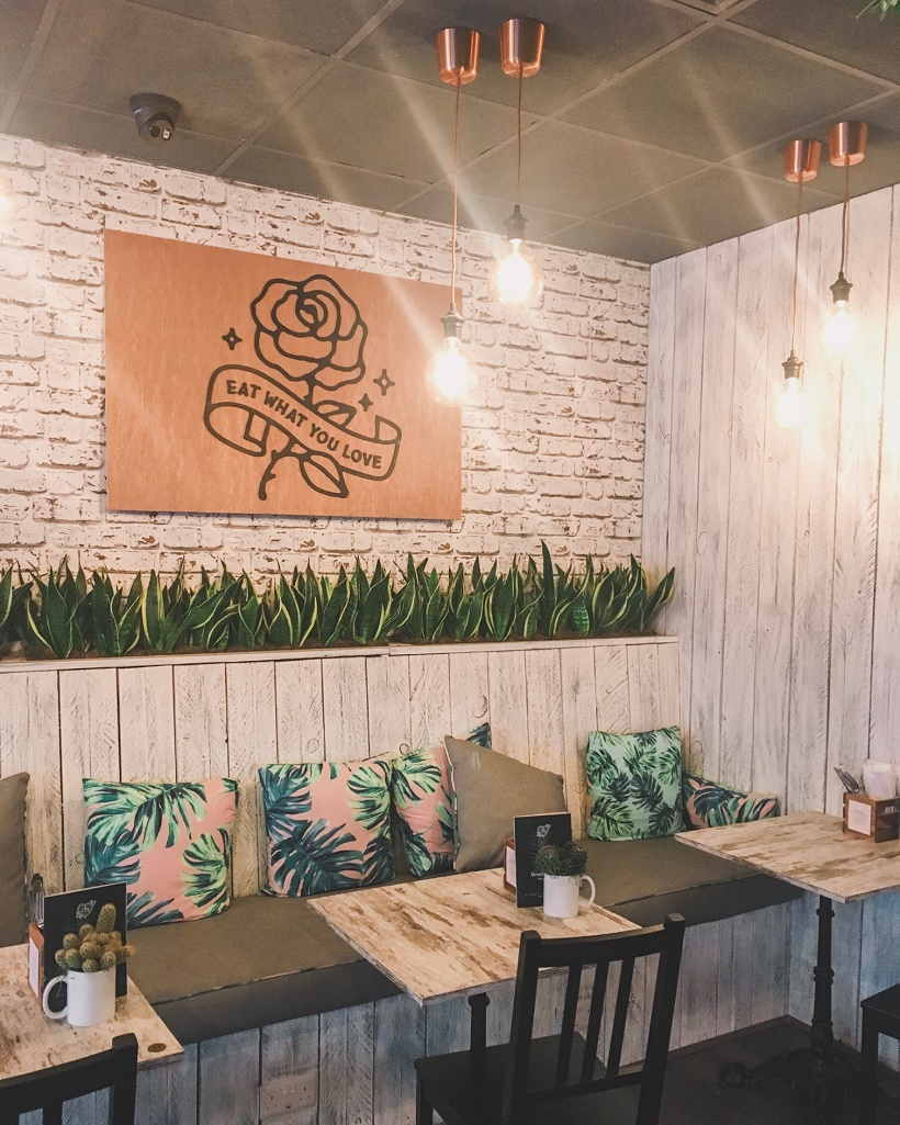 Instagrammable interiors Liverpool at Love Thy Neighbour