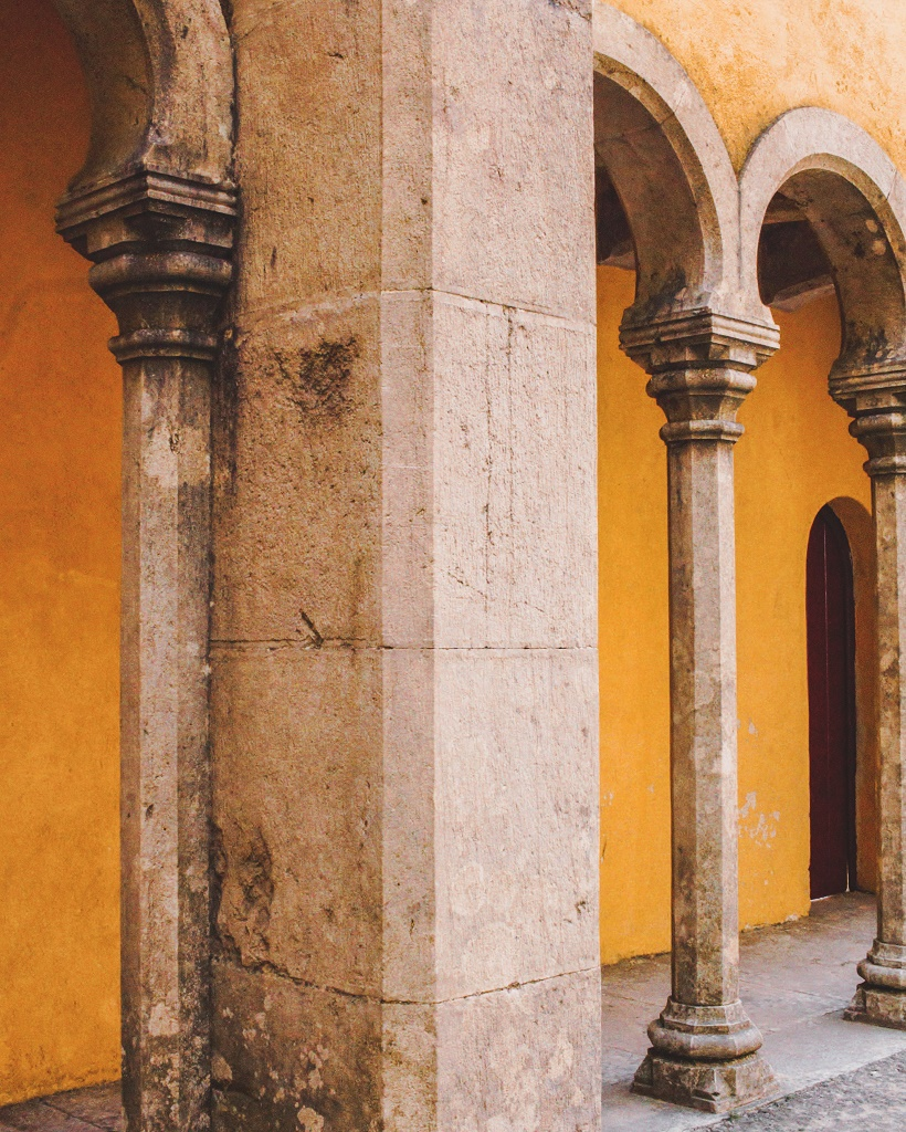 Pena Palace arches