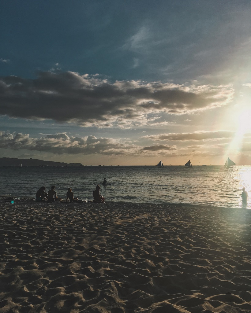 Boracay at sunset