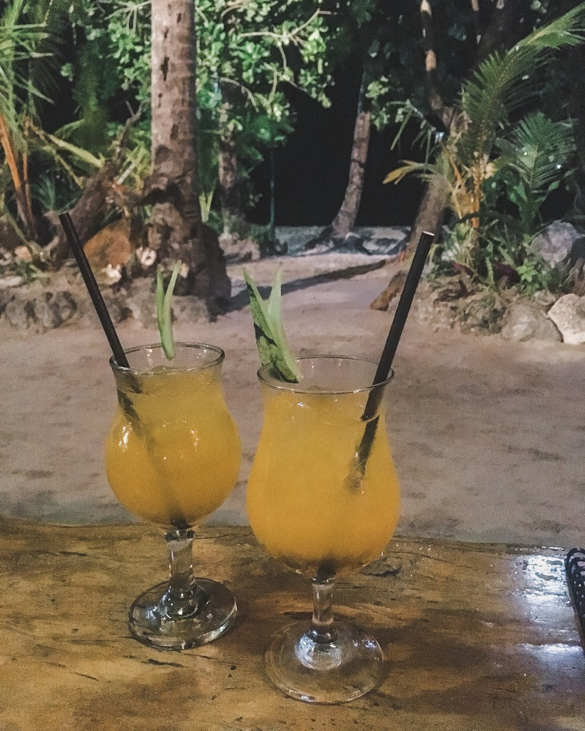 Cocktails in Boracay