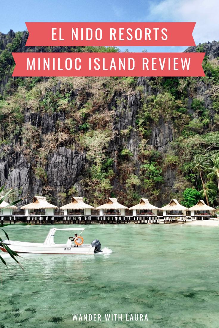 El Nido Resorts Miniloc Island review