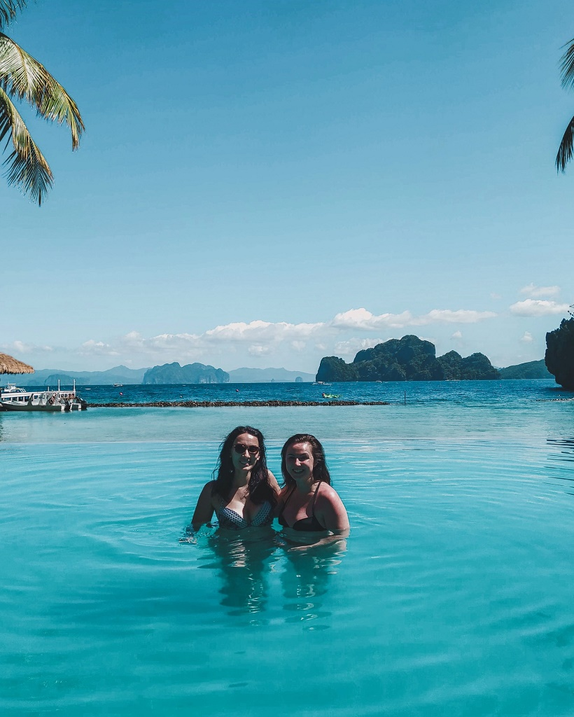 Miniloc Island pool
