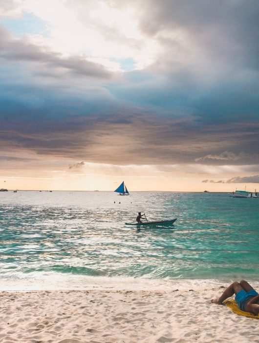 Sunset White Beach Boracay