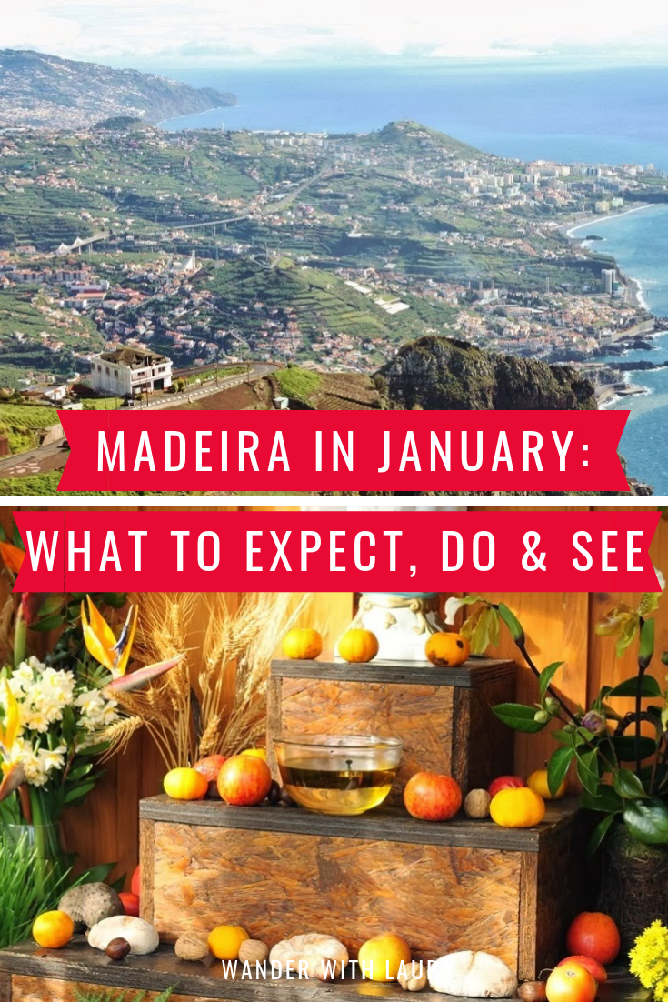 What's it like to visit Madeira in January? By travel blogger Wander with Laura.