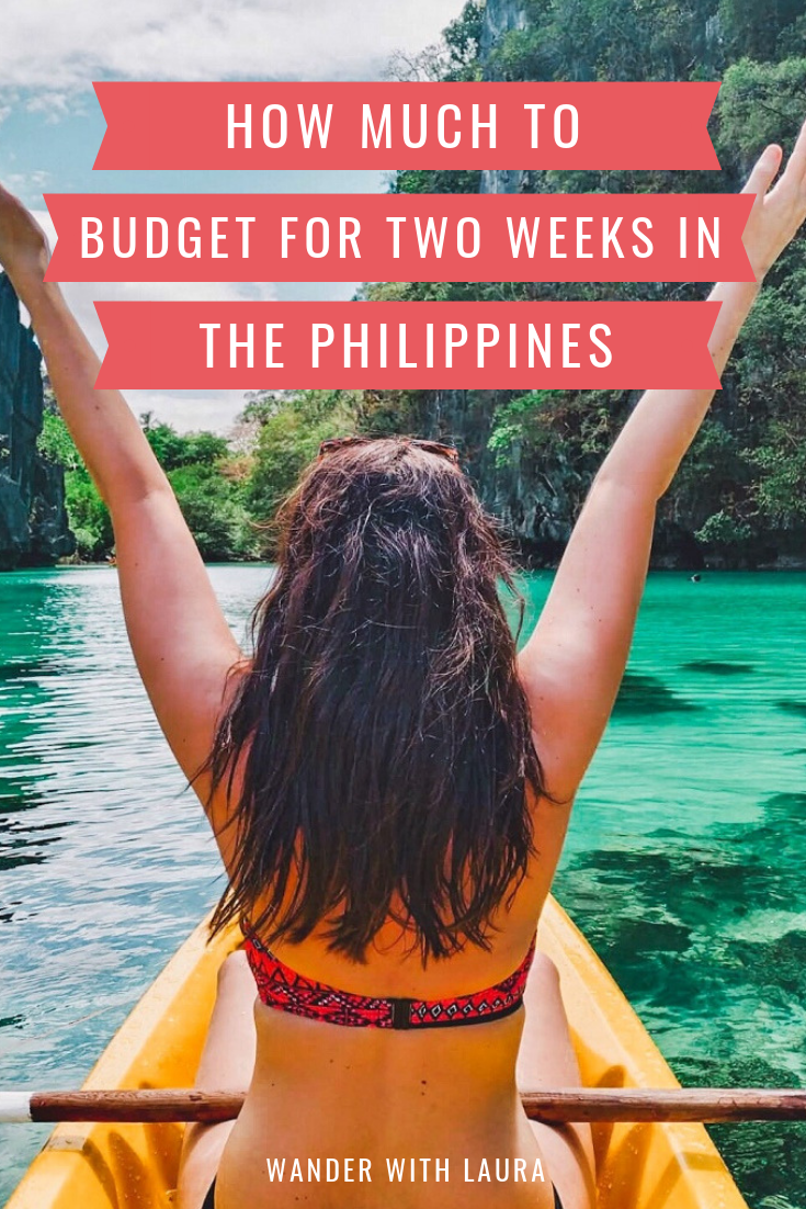 How much to budget for two weeks in the Philippines