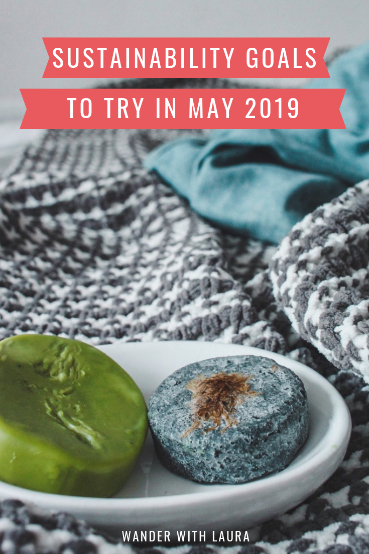 Try these sustainability goals for May 2019