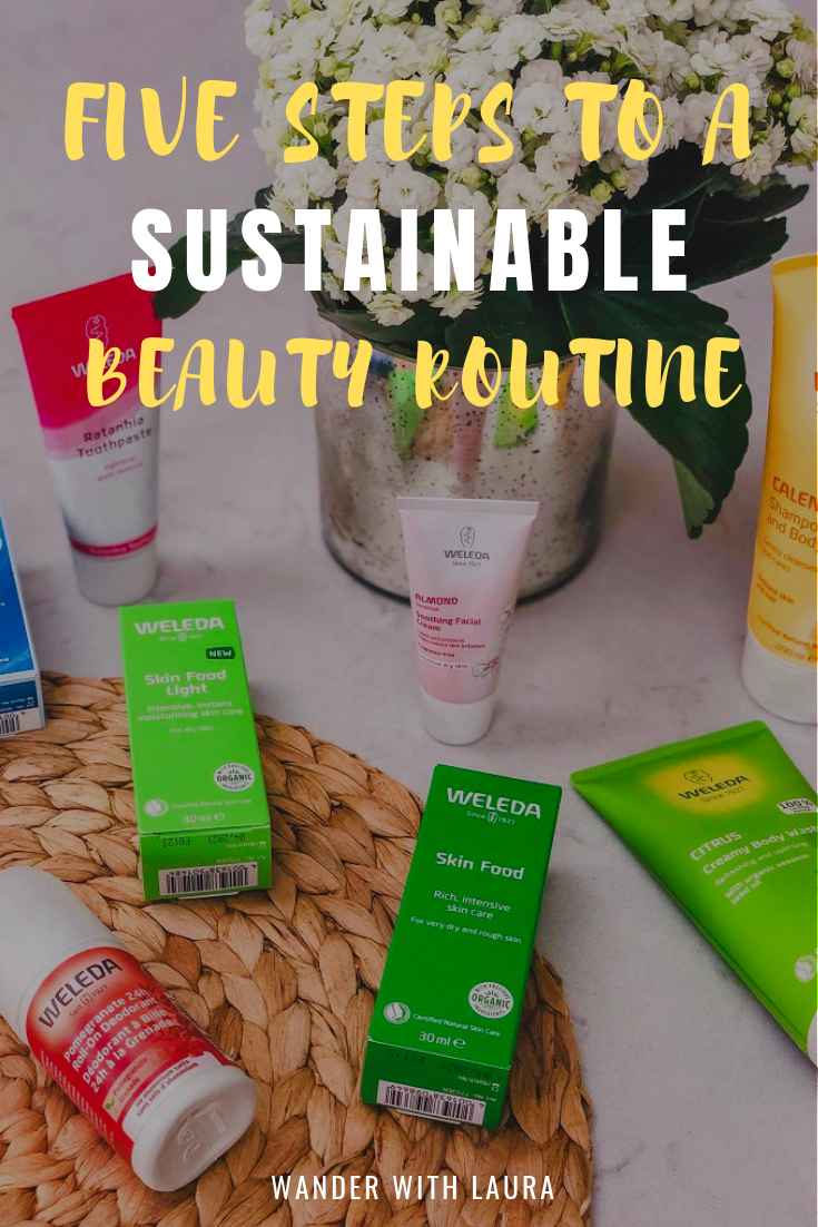Five ways to create a sustainable beauty routine