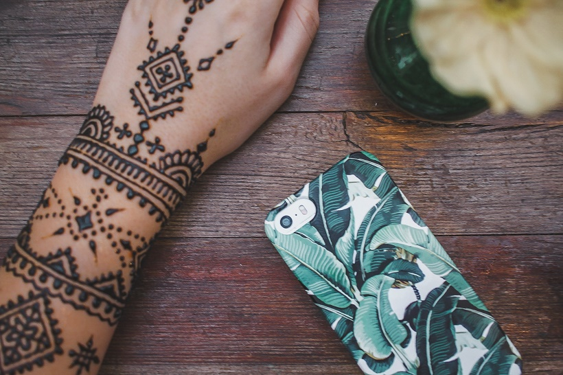 Henna tattoo Marrakech