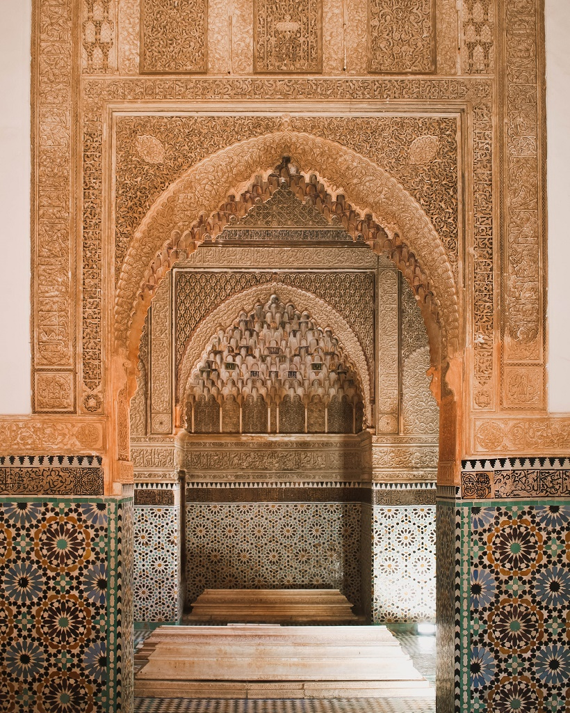 Saadian Tombs interior