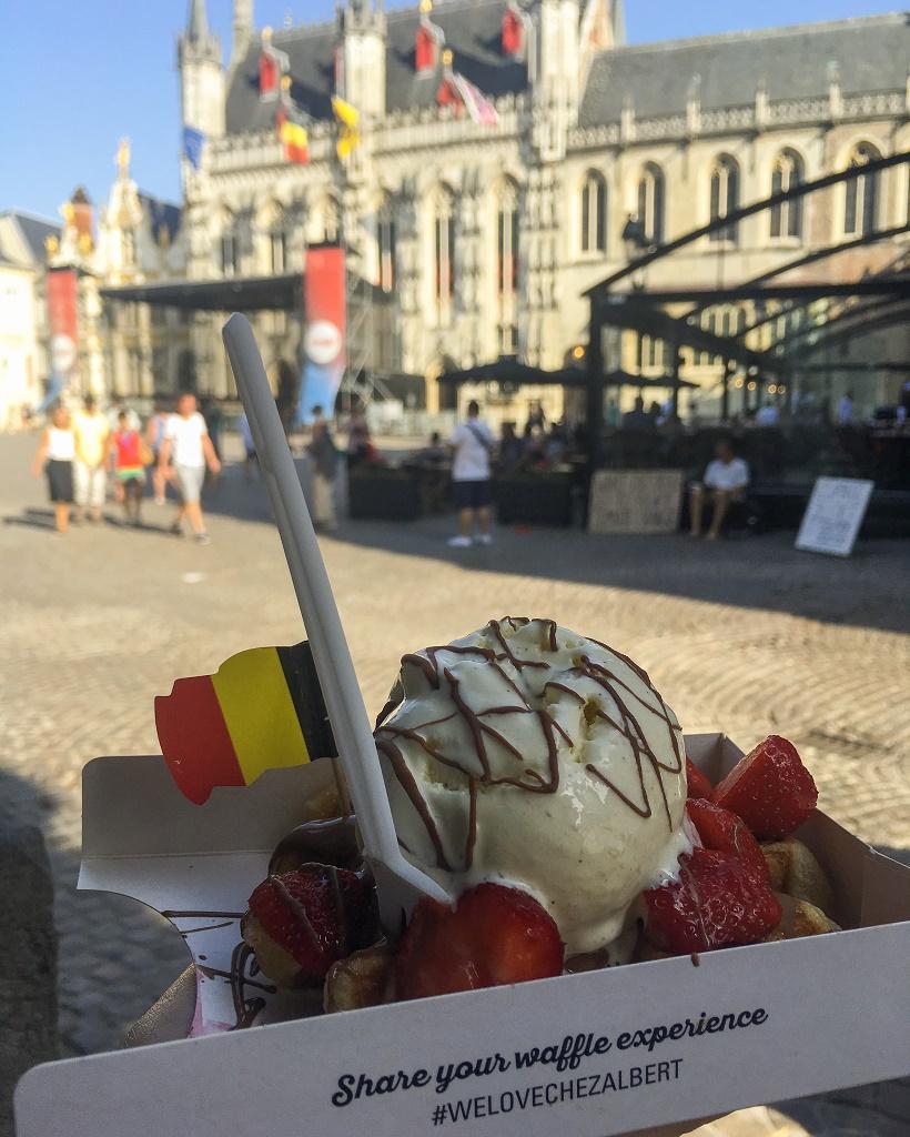 Chez Albert waffles Bruges